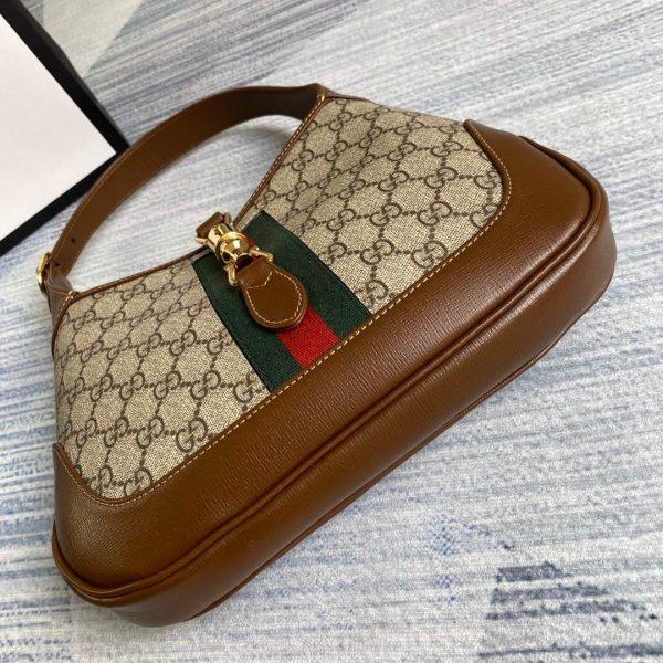 Gucci 636706 Jackie Vintage Underarm Bag Brown - luxibagsmall