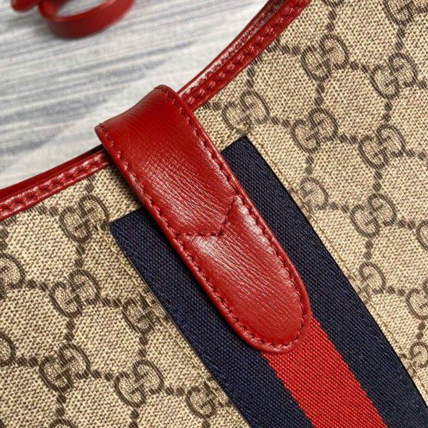 Gucci 636706 Jackie Vintage Underarm Bag Red - luxibagsmall