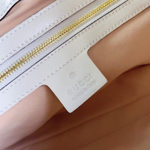 Gucci 636706 Jackie Vintage Underarm Bag White - luxibagsmall