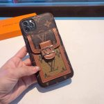 Louis Vuitton Apple Iphone Leather Premium Deluxe Phone Case Protection 10111 - luxibagsmall