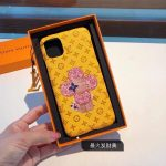 Louis Vuitton Apple Iphone Leather Premium Deluxe Phone Case Protection 10112 - luxibagsmall