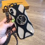 Louis Vuitton Apple Iphone Leather Premium Deluxe Phone Case Protection 10101 - luxibagsmall