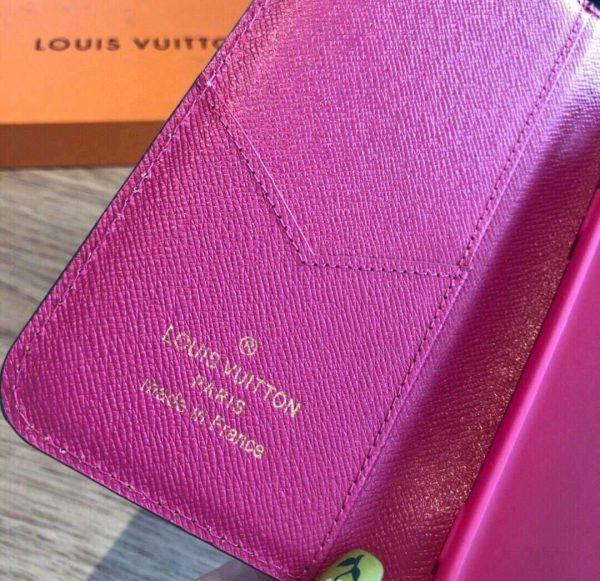Louis Vuitton Apple Iphone Leather Premium Deluxe Phone Case Protection 10103 - luxibagsmall