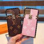 Louis Vuitton Apple Iphone Leather Premium Deluxe Phone Case Protection 10108 - luxibagsmall