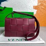 bottega veneta bv 578004 cassette shoulder bag 58890 wine red 0