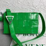 bottega veneta bv 667298 cassette cross body bag light green 0