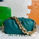 bv 620230 bottega veneta chain pouch raintree bag 92020 strap 25cm gold 18