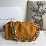 bv 620230 bottega veneta chain pouch raintree bag 92020 strap 25cm gold 63