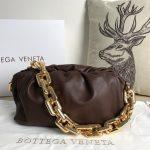 bv 620230 bottega veneta chain pouch raintree bag 92020 strap 25cm gold 72