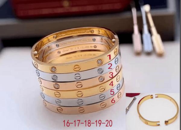 Cartier Bangle Designer Love Bracelet SM 20205 - luxibagsmall