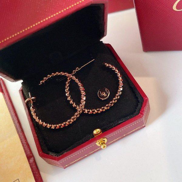 Cartier Clash De Cartier Hoop Earrings Small Model 20211 - luxibagsmall