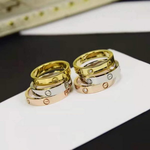 Cartier Ring Love Wedding Band 20198 - luxibagsmall
