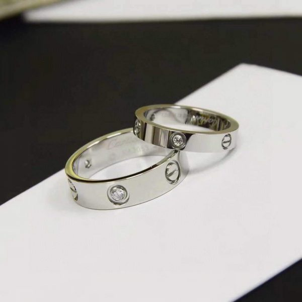 Cartier Ring Love Wedding Band 20200 - luxibagsmall