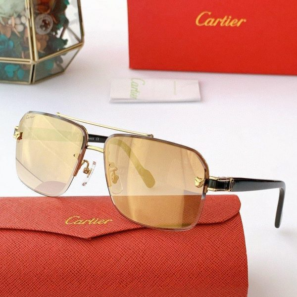 Cartier Sunglasses Luxury Cartier Sport Fashion Show Sunglasses 992245 - Voguebags