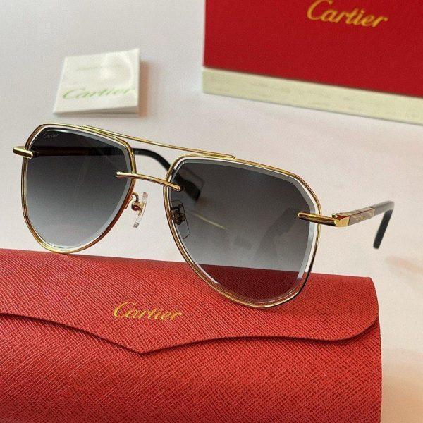 Cartier Sunglasses Luxury Cartier Sport Fashion Show Sunglasses 992247 - Voguebags