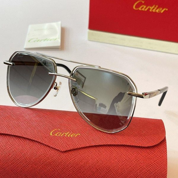 Cartier Sunglasses Luxury Cartier Sport Fashion Show Sunglasses 992254 - Voguebags