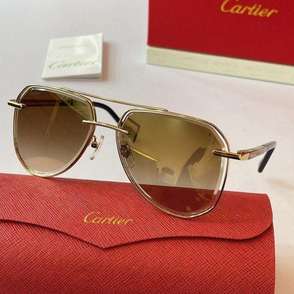 Cartier Sunglasses Luxury Cartier Sport Fashion Show Sunglasses 992258 - Voguebags