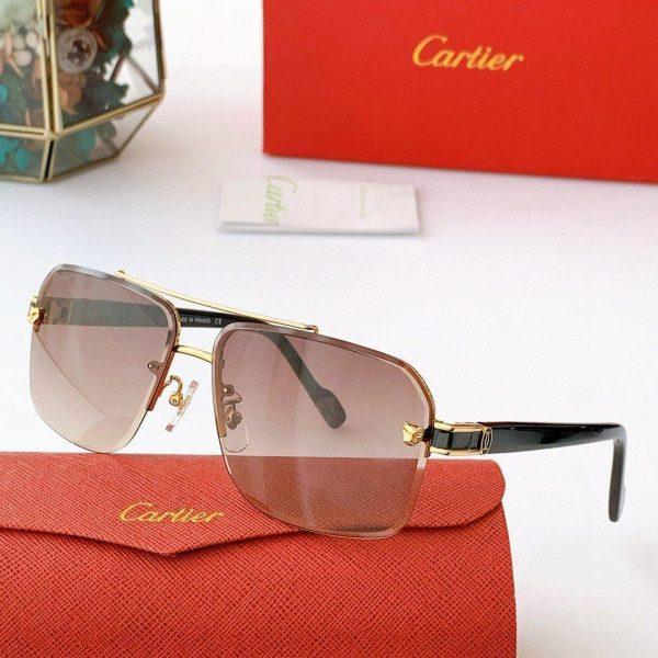 Cartier Sunglasses Luxury Cartier Sport Fashion Show Sunglasses 992261 - Voguebags