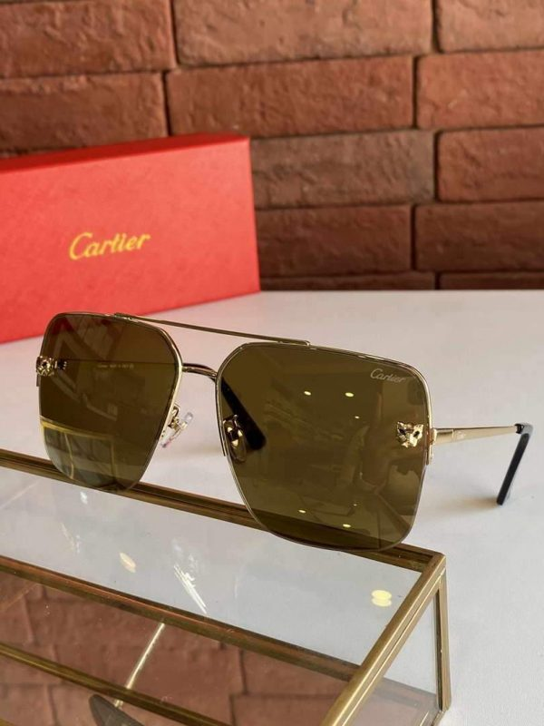 Cartier Sunglasses Luxury Cartier Sport Fashion Show Sunglasses 992237 - Voguebags