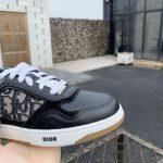 dior-3sn272-b27-low-top-sneaker-Black-smooth-calfskin-3
