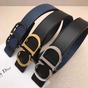 Dior Belts Designer Dior Buckle Leisure Belt Wide 3.4CM 19100 - luxibagsmall