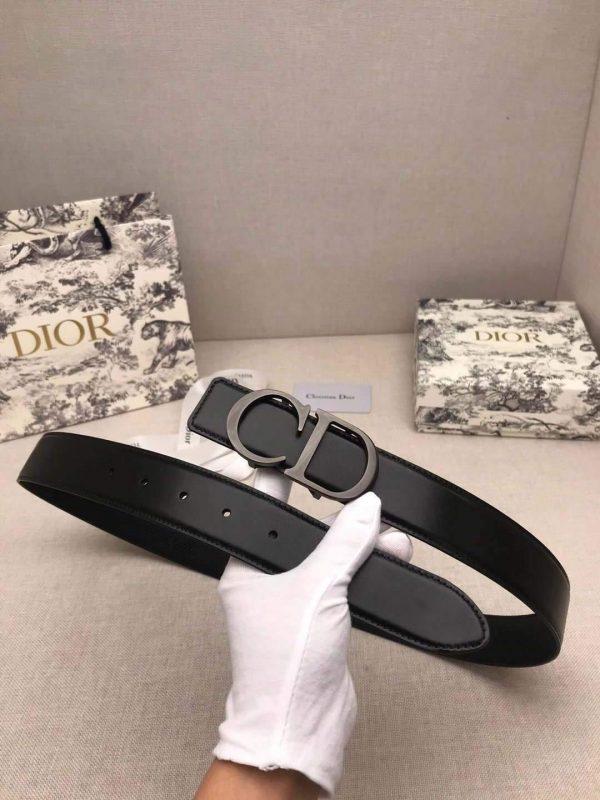 Dior Belts Designer Dior Buckle Leisure Belt Wide 3.4CM 19101 - luxibagsmall