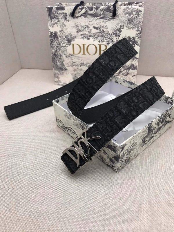 Dior Belts Designer Dior Buckle Leisure Belt Wide 3.4CM 19102 - luxibagsmall