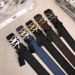 Dior Belts Designer Dior Buckle Leisure Belt Wide 3.4CM 19103 - luxibagsmall