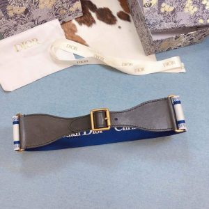 Dior Belts Designer Dior Buckle Leisure Belt Wide 6.0CM 19113 - luxibagsmall