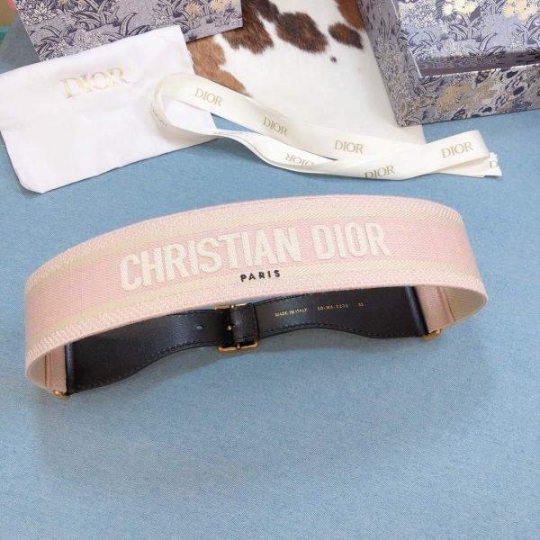 Dior Belts Designer Dior Buckle Leisure Belt Wide 6.0CM 19114 - luxibagsmall