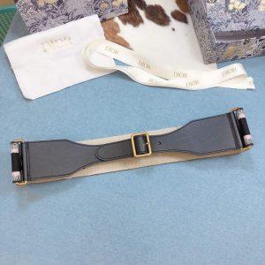 Dior Belts Designer Dior Buckle Leisure Belt Wide 6.0CM 19115 - luxibagsmall