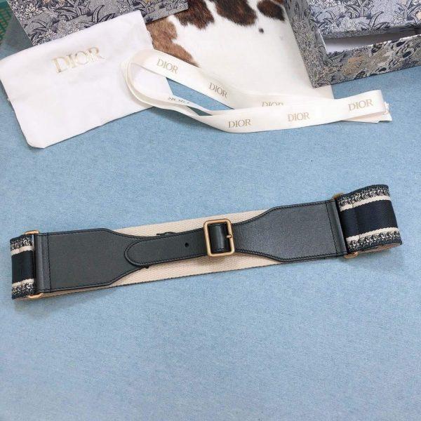 Dior Belts Designer Dior Buckle Leisure Belt Wide 6.0CM 19108 - luxibagsmall