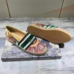 Dior KDB585 Dior Granville Espadrille Shoes Pink Green - luxibagsmall