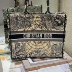 dior-m1286-book-tote-bag-christian-dior-shoulder-shopping-black-2