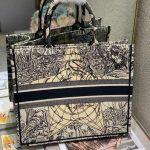 dior-m1286-book-tote-bag-christian-dior-shoulder-shopping-black-5