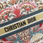 dior-m1296-book-tote-christian-dior-beige-red-adn-green-6