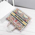 dior-m1296-book-tote-christian-dior-beige-red-adn-green-7