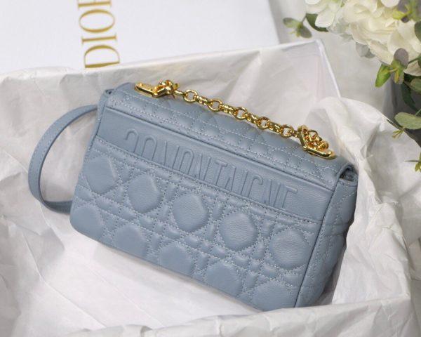Dior M9241 Dior Small Dior Caro Bag Blue - luxibagsmall