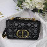 Dior M9241 Dior Small Dior Caro Bag Black - luxibagsmall