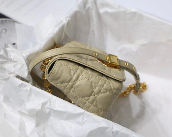 Dior M9241 Dior Small Dior Caro Bag Apricot - luxibagsmall