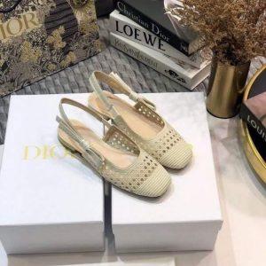 Dior Pumps Designer Dior Sneakers Flats Shoes Women 81106 Off White - Voguebags