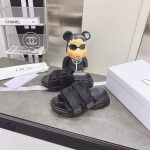 Dior Slippers Hot Sale Dior Sandals Black 81180 - luxibagsmall