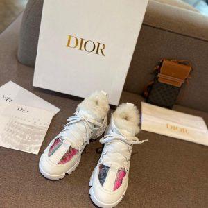 Dior Sneakers Designer Dior Tennis Flats Shoes Women 81107 - Voguebags
