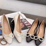 Dior Women Pump Dior Designer Shoes 81154 Black - luxibagsmall