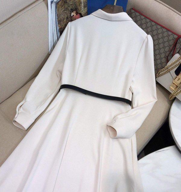 Dior Women's Beltedd Dress Designer Dior Clothing 38079 - Voguebags