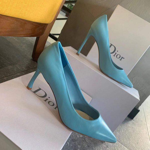 Dior Women's Pump Dior Designer Shoes 81175 Blue - luxibagsmall