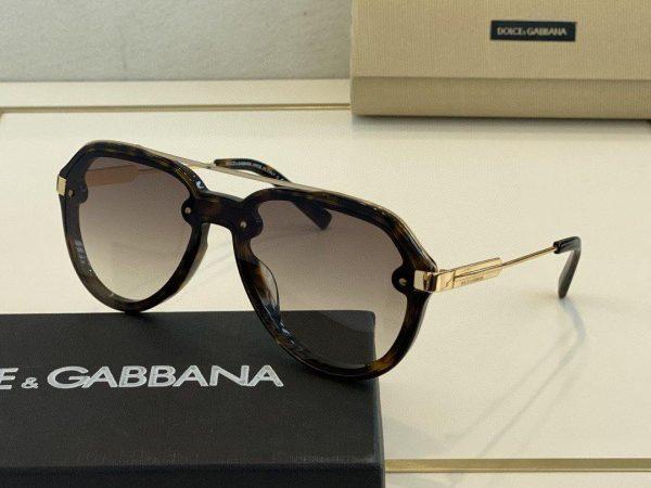 Dolce Gabbana Sunglasses Luxury DG Sports Fashion Show Sunglasses 992272 - Voguebags