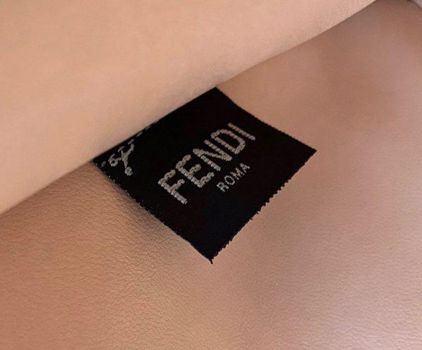 Fendi 70193 Peekaboo ISEEU MEDIUM Black Leather Bag - luxibagsmall