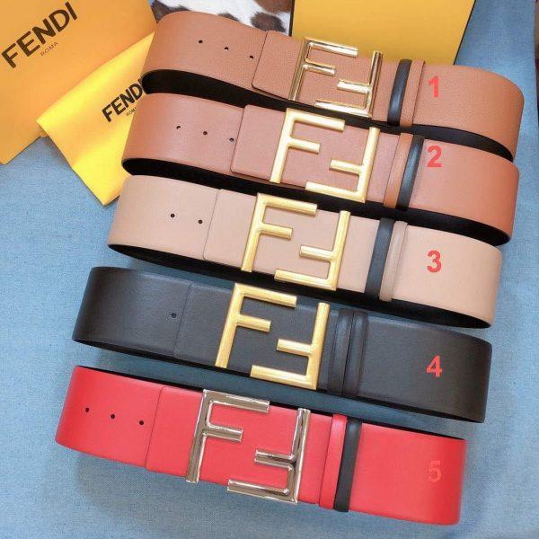 Fendi Belts Designer FF Buckle Leisure Belt Wide 7.0CM AA0459 - Voguebags