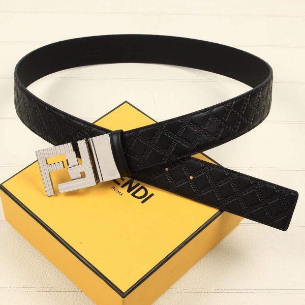 Fendi Belts Designer FF Buckle Leisure Belt Wide 3.8CM AA0477 - luxibagsmall